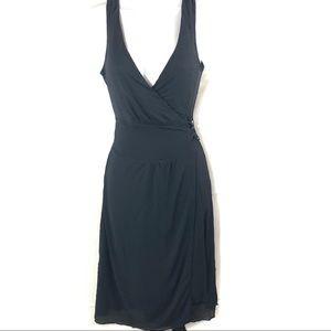 Banana Republic Sleeveless Goddess Wrap Dress E41